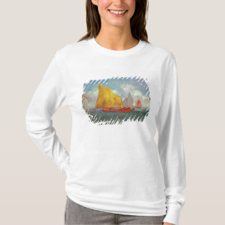 T-shirt Yachts dans une baie