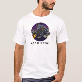 T-shirt Yakkicus de la courbure du yak !