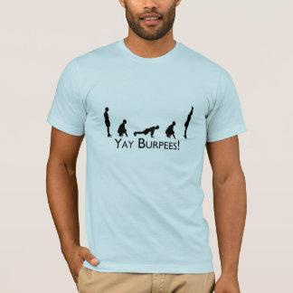 T-shirt Yay Burpees !