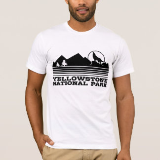 T-shirt Yellowstone