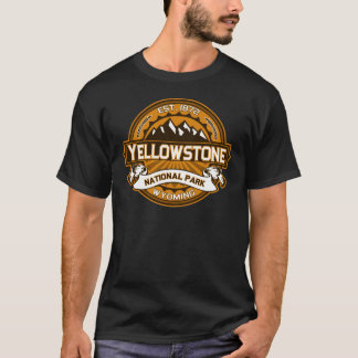 T-shirt Yellowstone d'or