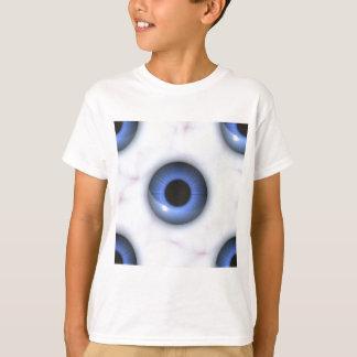T-shirt yeux bleus déplaisants