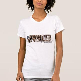T-shirt Yeux de springer spaniel