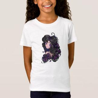 T-Shirt Yeux mignons de fille de manga d'anime ! Enfants T
