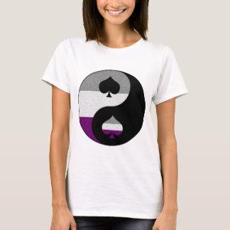 T-shirt Yin asexuel et Yang