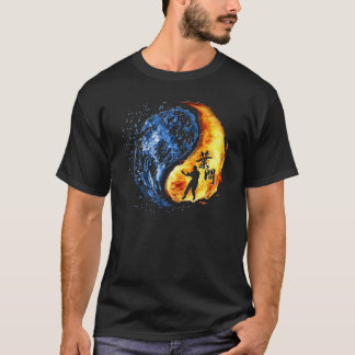 """T-shirt Yin Yang - homme d'IP de Chun """"KungFu"""" d'aile"""