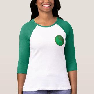 T-shirt YinYang Bella+T de raglan de douille de la toile