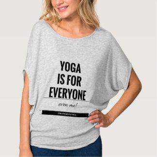 """T-shirt """"YOGA AVEC l'habillement de JEN"""""""