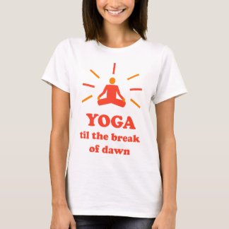 T-shirt Yoga jusqu'à l'aube
