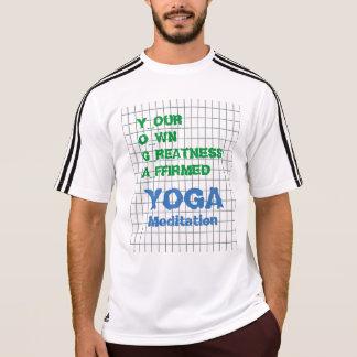 T-shirt YOGA votre propre texte de sagesse de citation