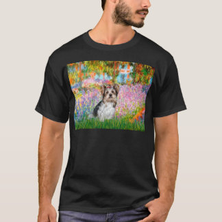 T-shirt Yorkshire Terrier (Biewer) - jardin