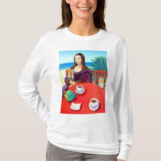 T-shirt Yorkshire Terrier Mona Lisa