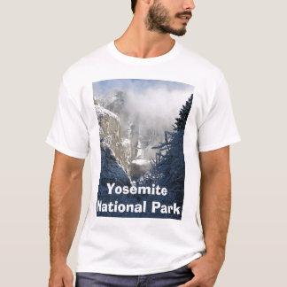 T-shirt Yosemite Falls en hiver