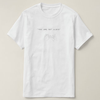 T-shirt You´re not alone (hands)