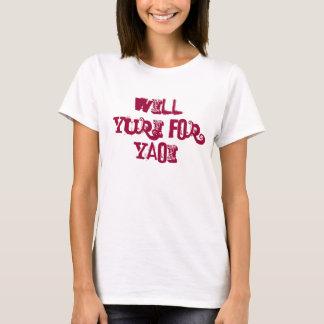 T-shirt Yuri pour Yaoi