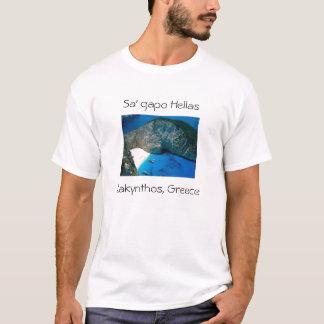 T-shirt Zakinthos, îles ioniennes, Grèce, Hel de gapo de