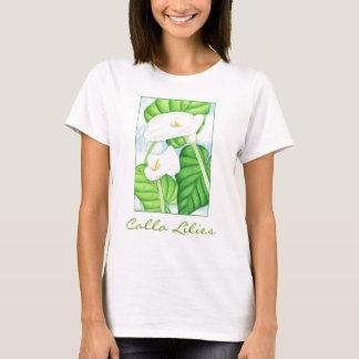 T-shirt Zantedeschias