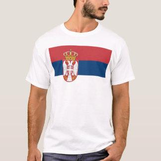 T-shirt Zastava Srbije, drapeau serbe