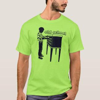T-shirt zaz-vieux-école-marine