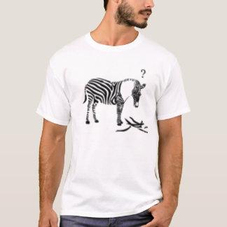 T-shirt Zèbre confus