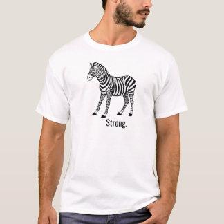 T-shirt Zèbre fort