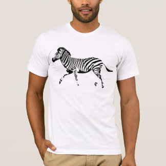 T-shirt Zèbre sauvage