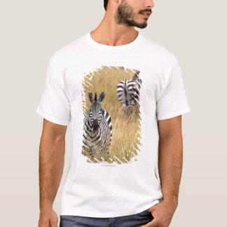 T-shirt Zèbres dans l'herbe grande
