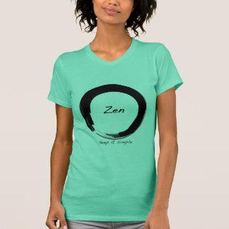 T-shirt Zen : Maintenez-le simple