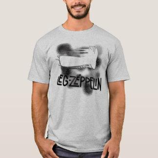 T-shirt zeppelin de jambe