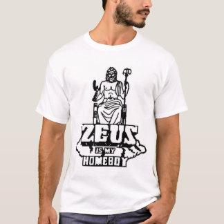 T-shirt Zeus est mon Homeboy
