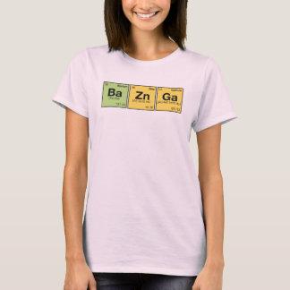 T-shirt ZN GA DE BA ! - bousculade périodique d'éléments