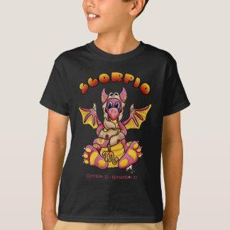 T-shirt zodiaque mignon de dragon de bébé de Scorpion