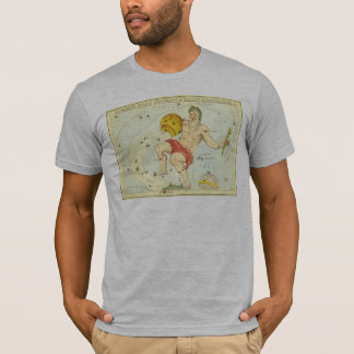 T-shirt Zodiaque vintage, constellation de Verseau
