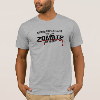 T-shirt Zombi de dermatologue