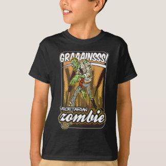 T-shirt Zombi végétarien