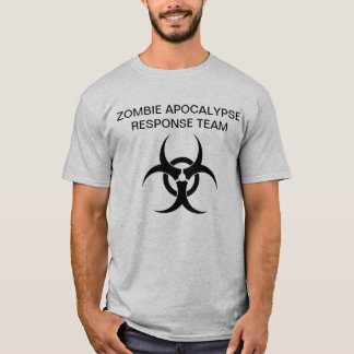 T-shirt Zombie Apocalypse Response équipe