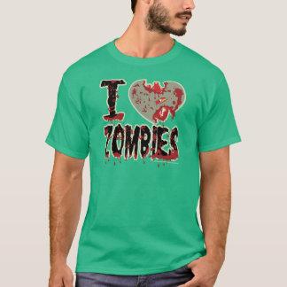 T-shirt zombis du coeur i !