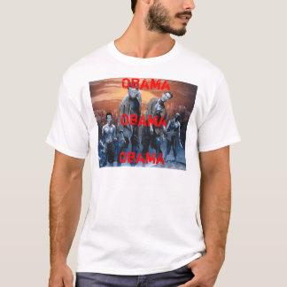 T-shirt Zombis pour Obama