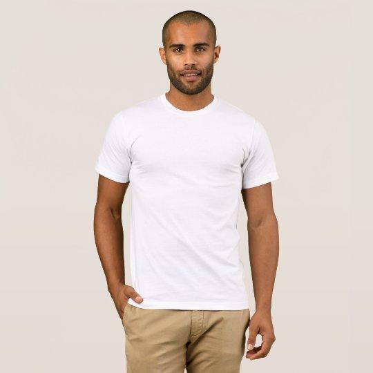 T-shirt basique pour homme, Blanc