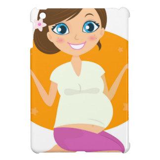 T-shirts avec la fille enceinte coque pour iPad mini