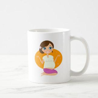 T-shirts avec la fille enceinte mug