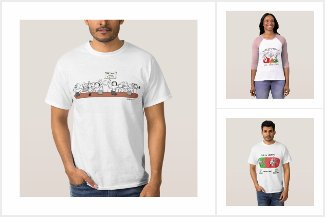 T-shirts BLOCULUS