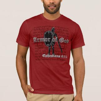 T-shirts chrétien, l'armure des hommes du T-shirts