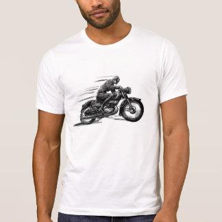 T-SHIRTS CLASSIQUES D'IMAGE DE MOTO