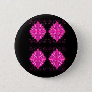 T-shirts créatifs avec des mandalas badge