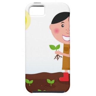 T-shirts créatifs de fille mignonne d'agriculture coque iPhone 5
