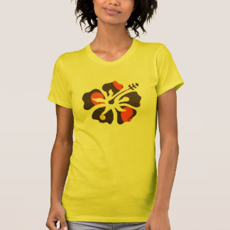 T-shirts d'art de fleur du ressort des femmes de