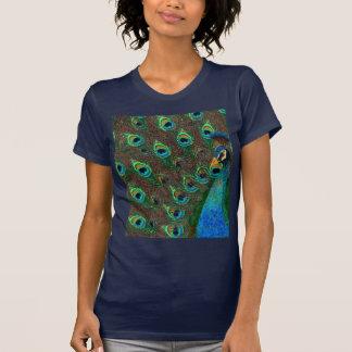 T-shirts d'art de paon