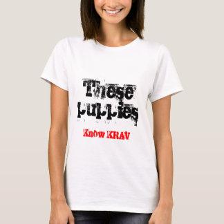 T-shirts d'arts martiaux de Krav Maga