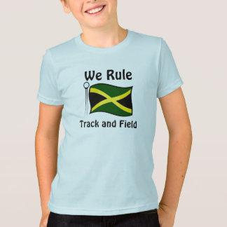 T-shirts d'athlétisme de la Jamaïque